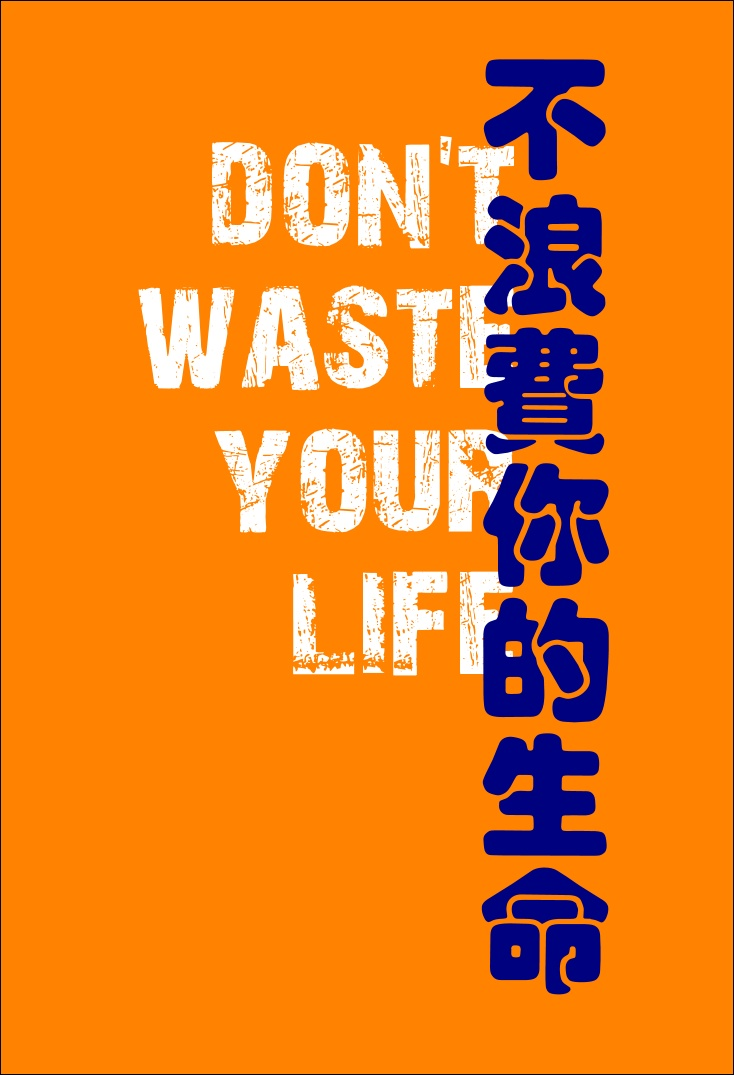 Don't Waste Your Life!