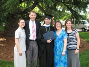 Luke's Graduation from BJU