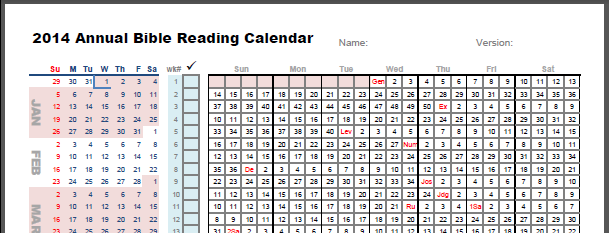 daily bible reading calendar download