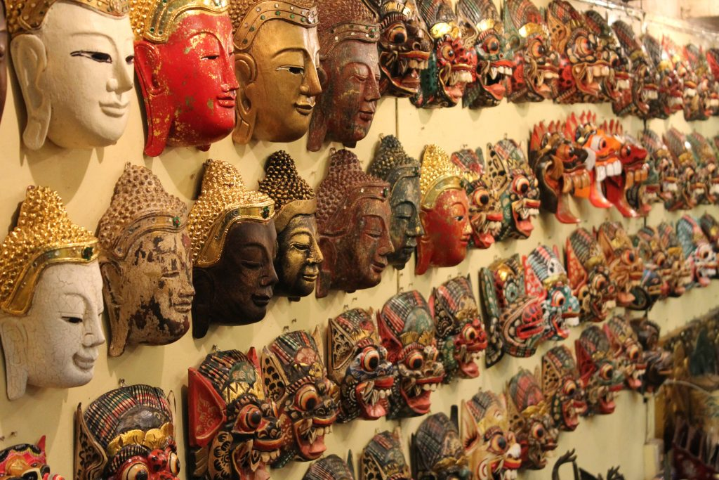 Religious Masks of Thai Buddhism