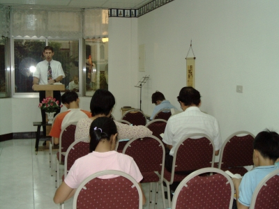2nd floor auditorium in our original church location